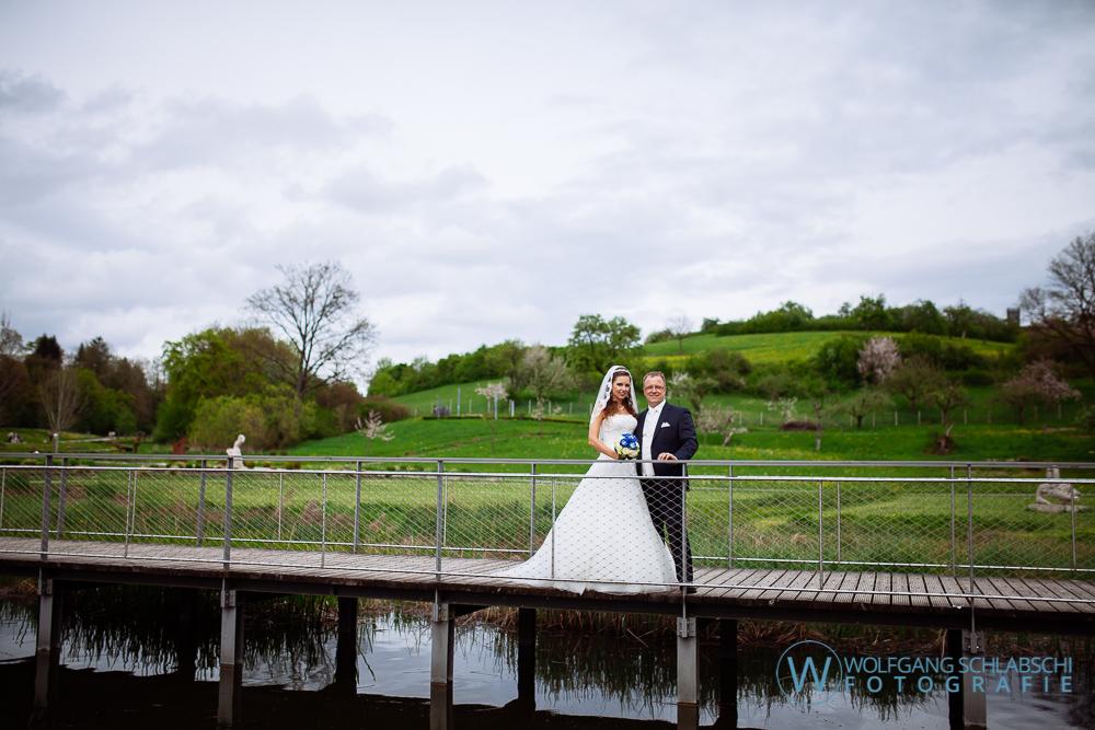 Hochzeit von Evelyn und Markus in Rechberghausen