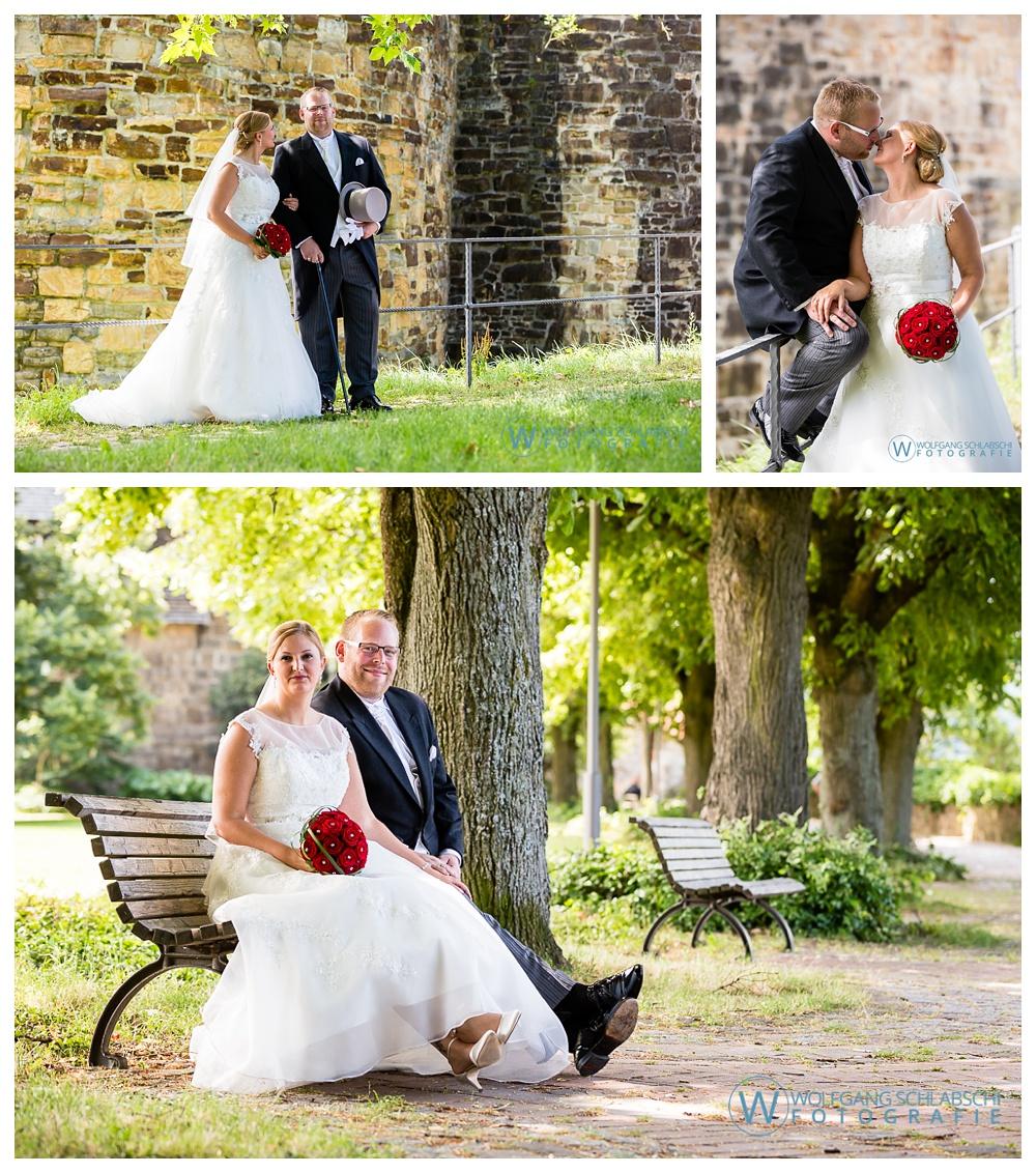 Hochzeitsfotos auf der Esslinger Burg