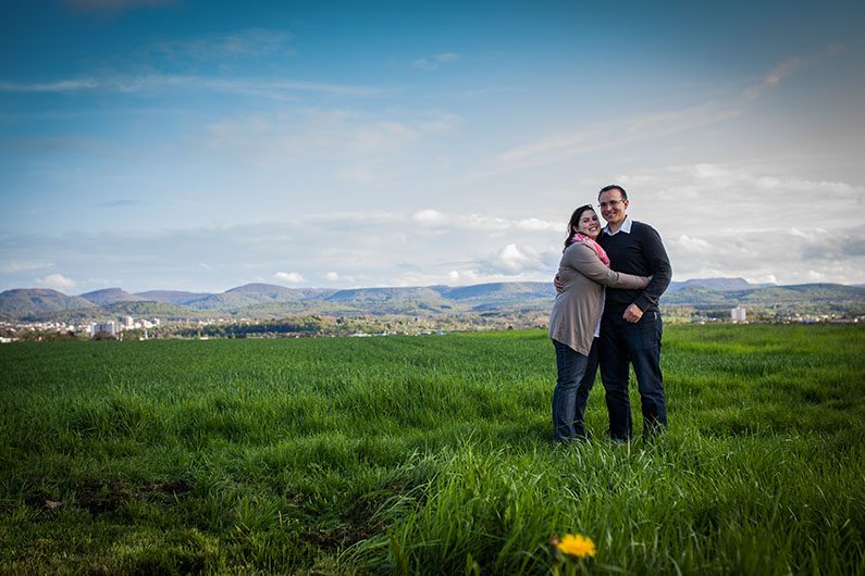 Engagement Shooting mit Kathrin & Patriz in Reutlingen
