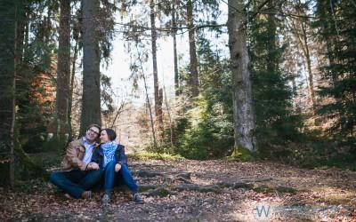 Engagement Shooting mit Manu und Gianni in Adelberg