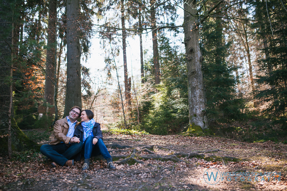 Engagement Shooting mit Manu und Gianni in Adelberg