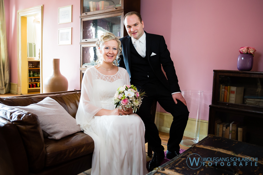Hochzeit von Marika und Christian in der Kessler Beletage